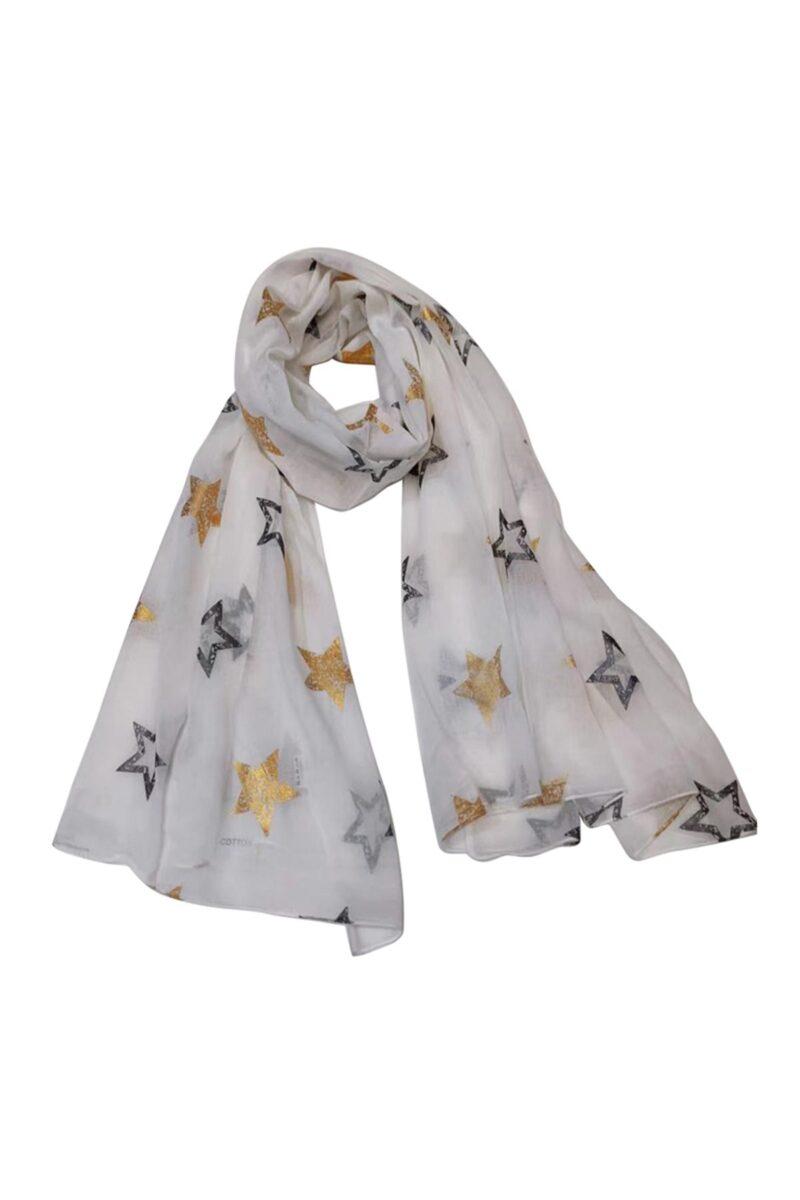 white scarf stars jerros birr