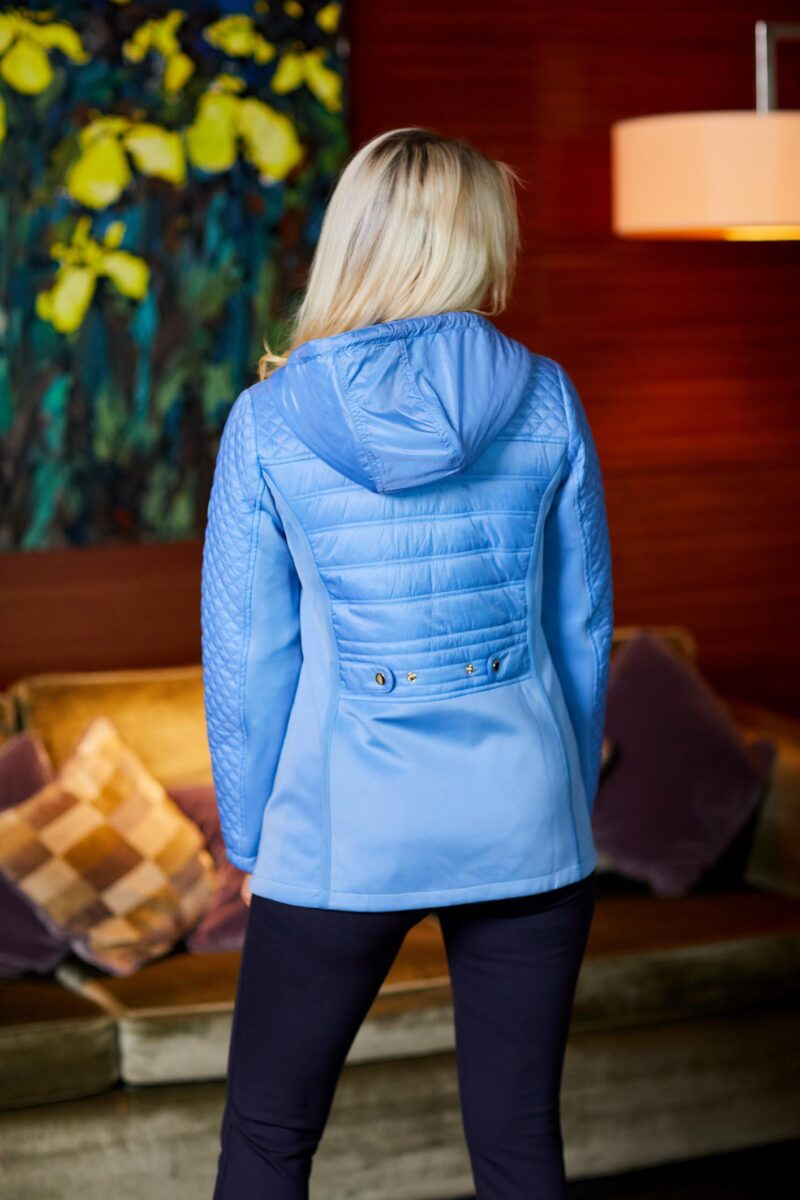 Neo Quilt jacket blue paco jerros