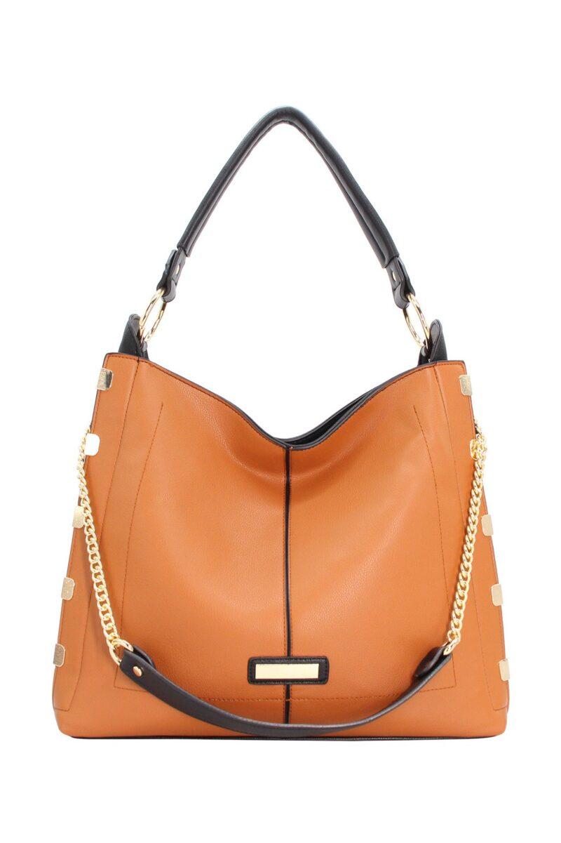 632 camel handbag parissac jerros