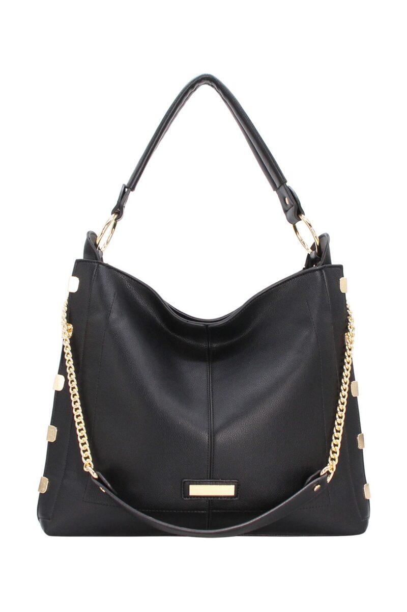 632 black handbag jerros birr parissac