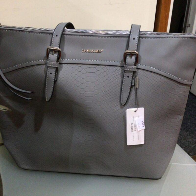 Grey Handbag 6272