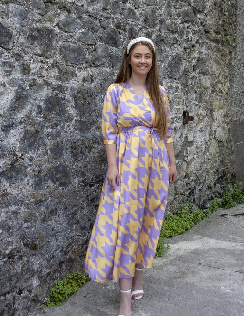 Lemon and Lilac Dress Jerros
