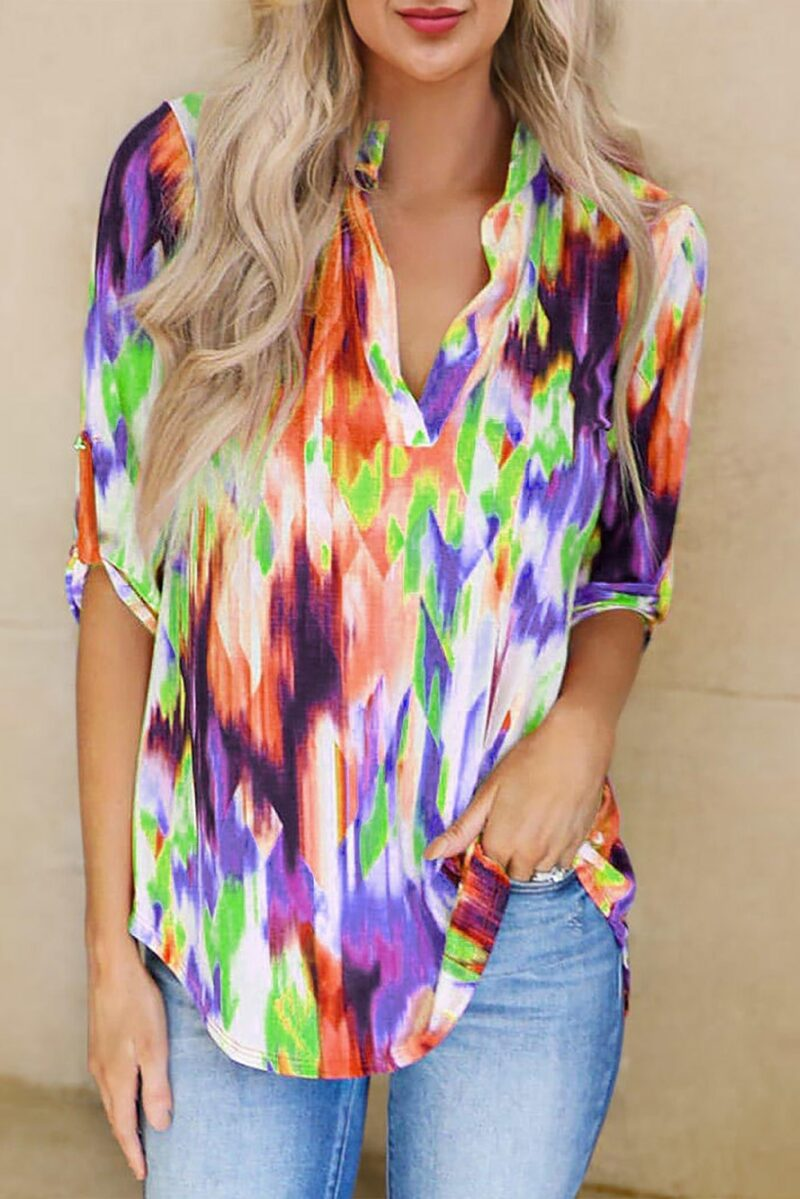 Multicoloured Top Jerros