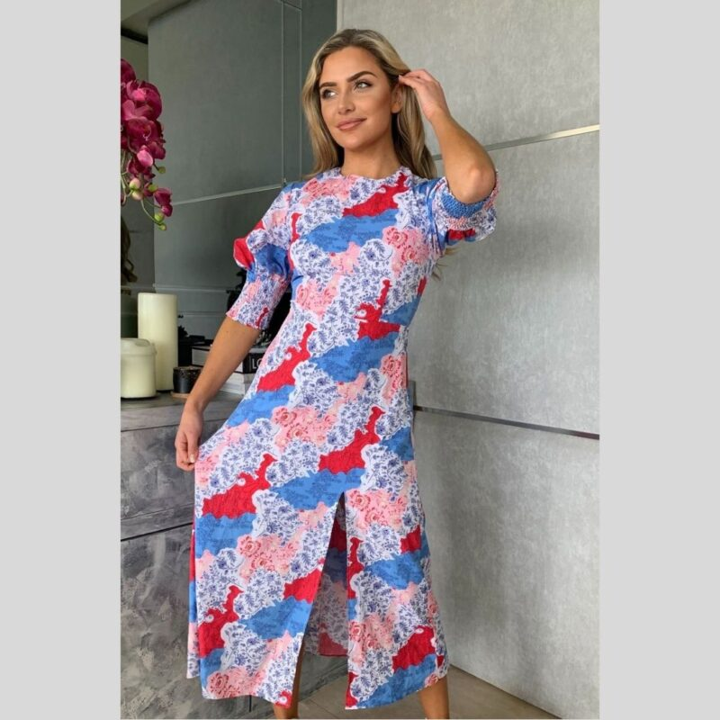 Shayla Midi Dress girl in mind jerros