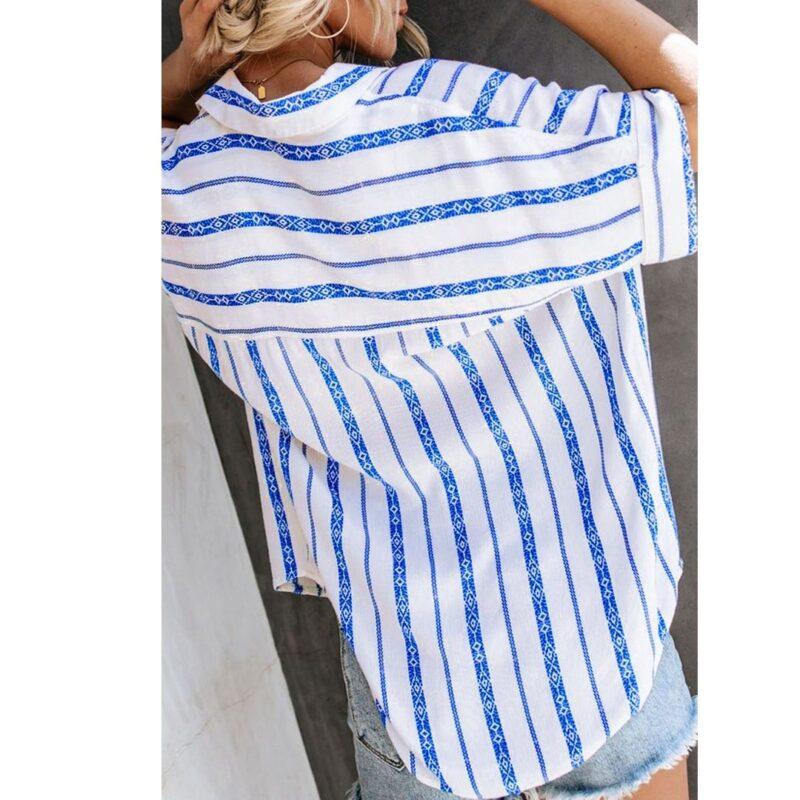 White Shirt Stripes jerros birr