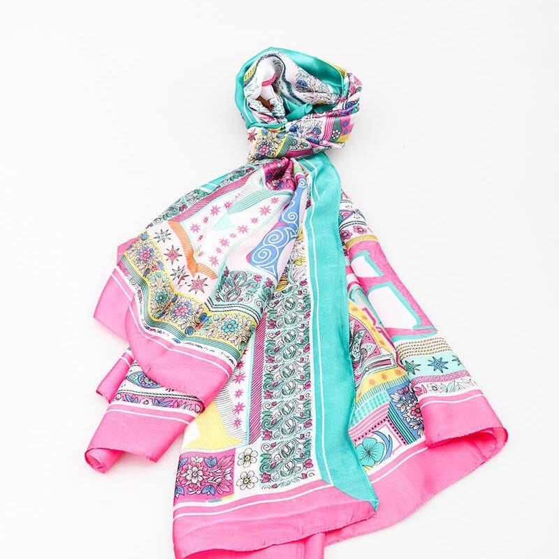 Pink Mix scarf