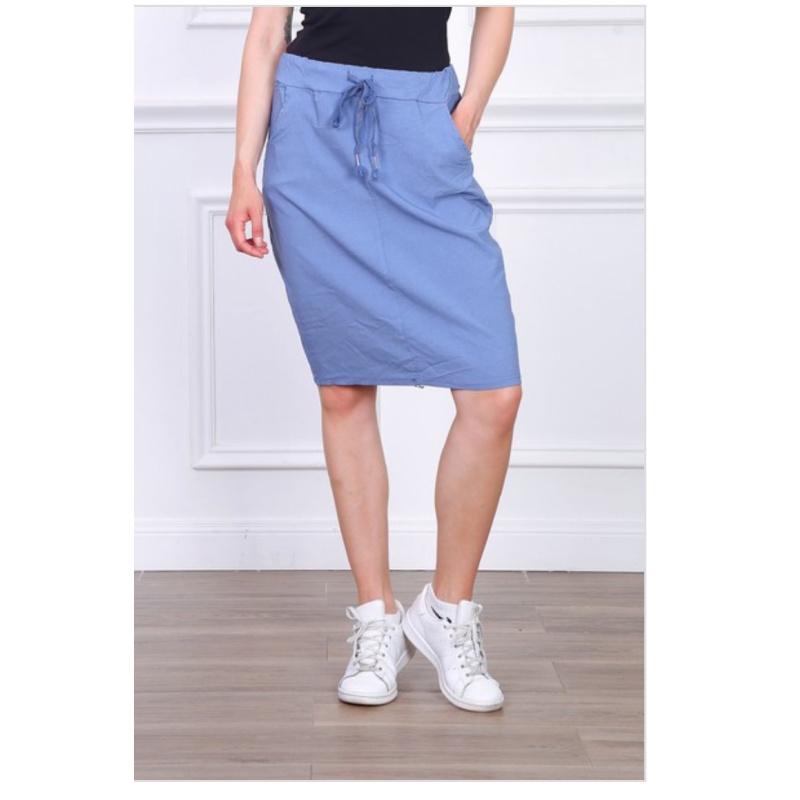 Blue skirt jerros birr