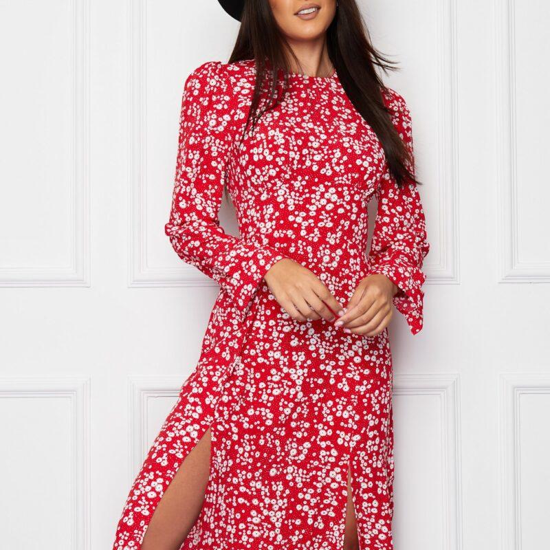 cass red dress girl in mind