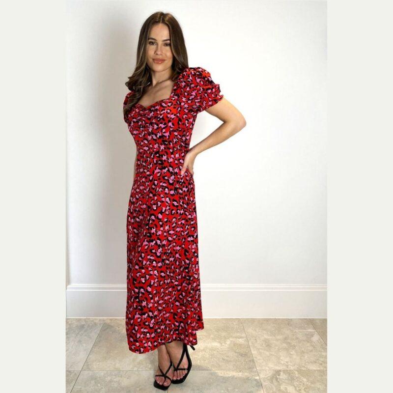 lillian red dress Jerros Birr