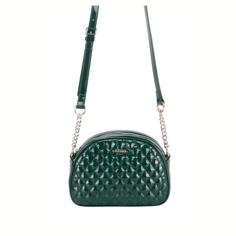 Green shoulder bag 6650